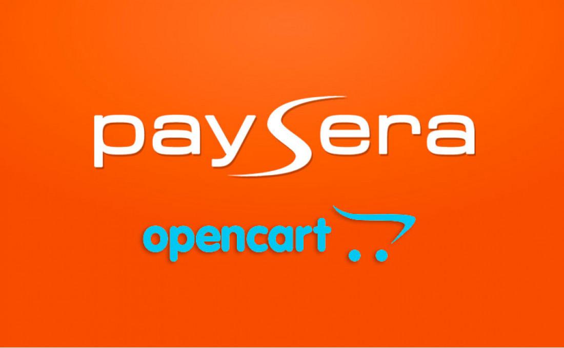 Модуль оплаты Paysera для Opencart 2.x
