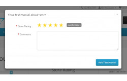 Модуль Отзыв после заказа на Opencart 2